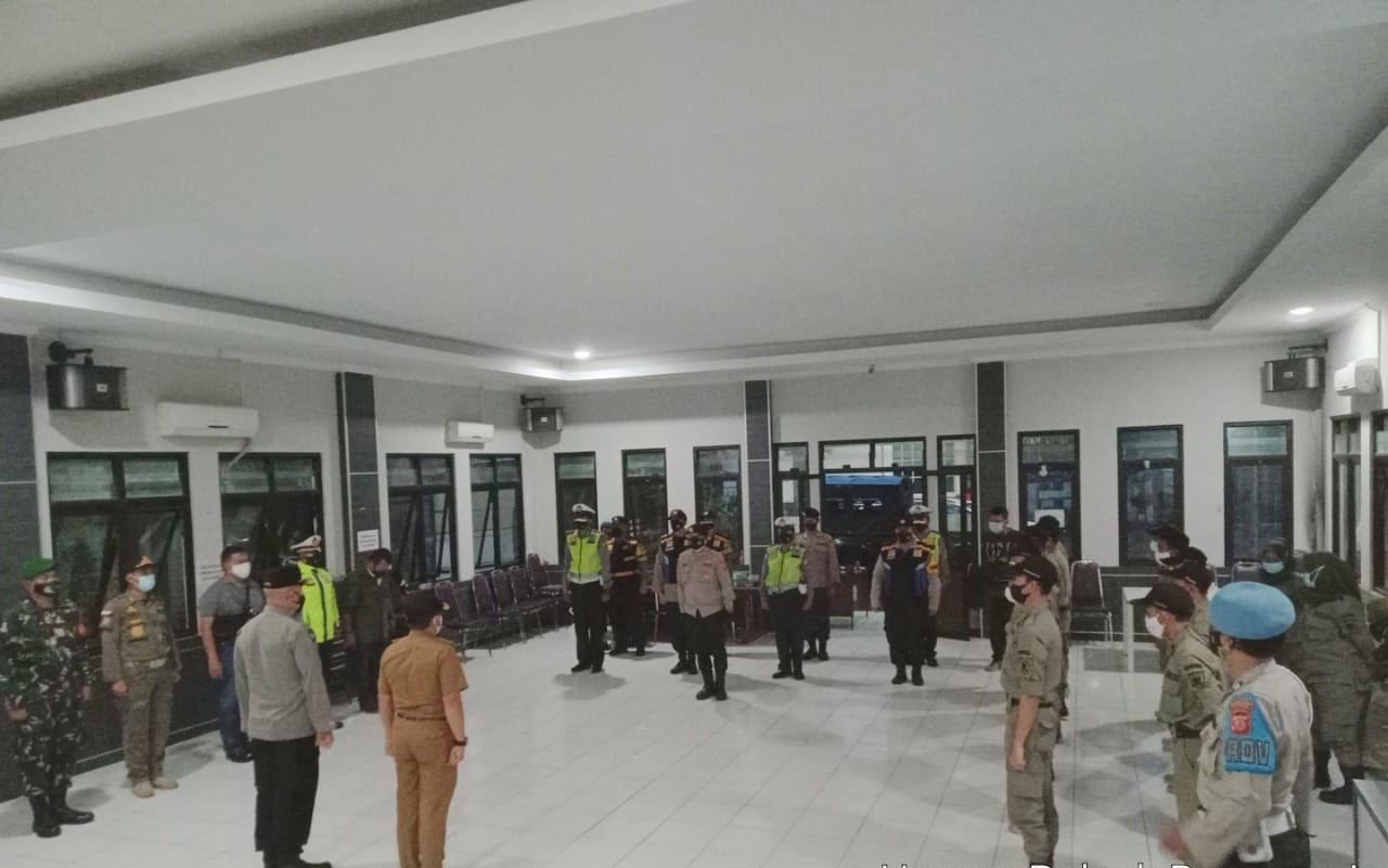Gelar pengaman malam takbir Idhul Adha 2021 di Wilayah Kecamatan Rancasari