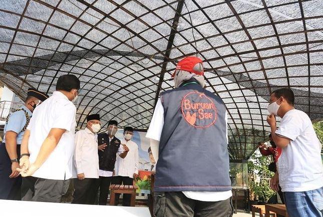 You are currently viewing Wapres Ma'ruf Amin Kunjungi Buruan SAE Kota Bandung
